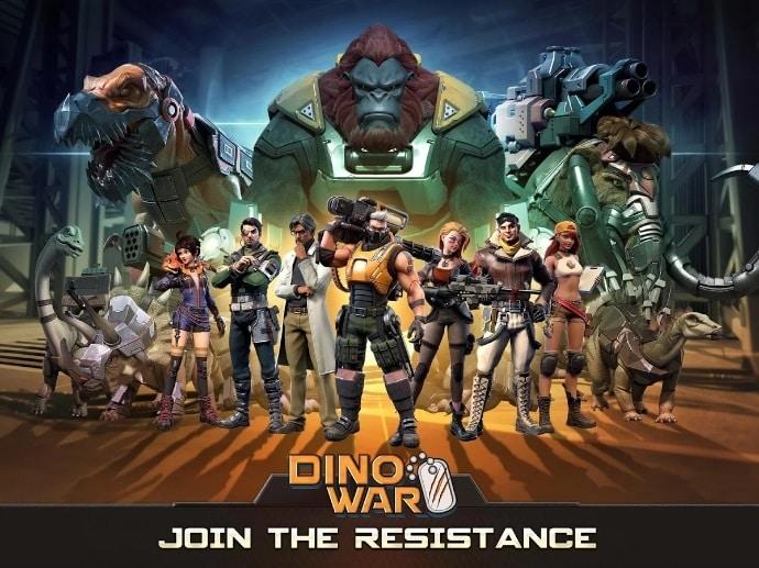 Dino War скачать