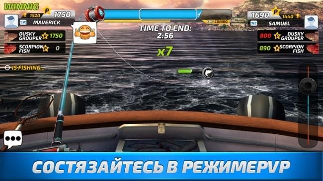 Fishing Clash андроид