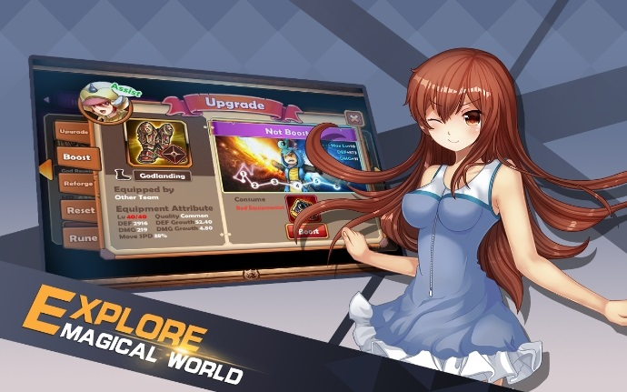 Hero Girls League андроид