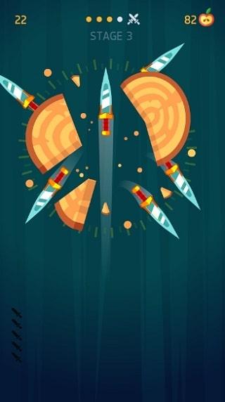 Knife Hit мод
