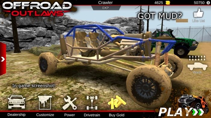 Offroad Outlaws мод