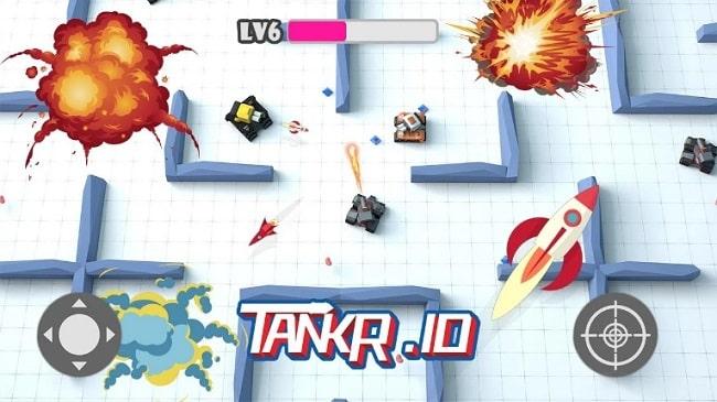 Tankr.io андроид
