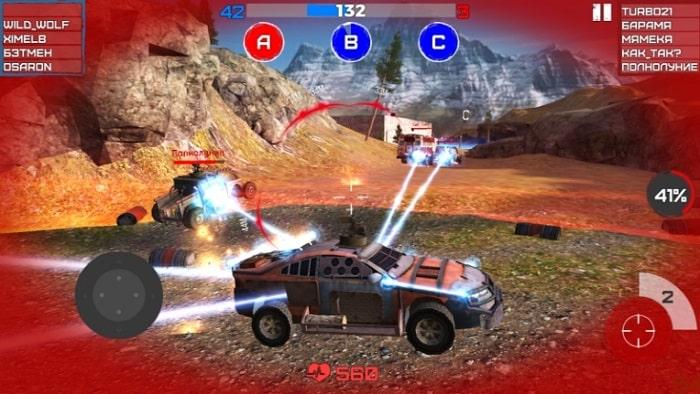 War Cars: Online Battle мод
