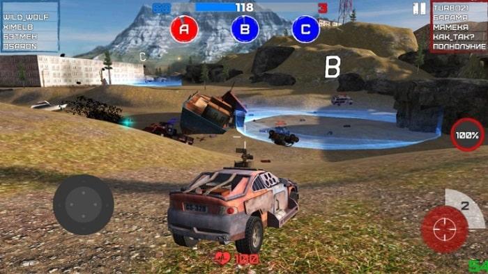 War Cars: Online Battle скачать