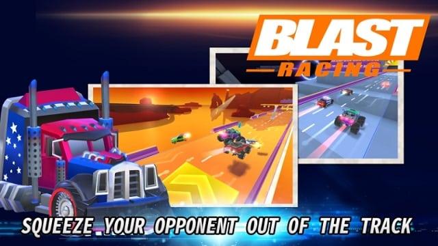 Blast Racing мод
