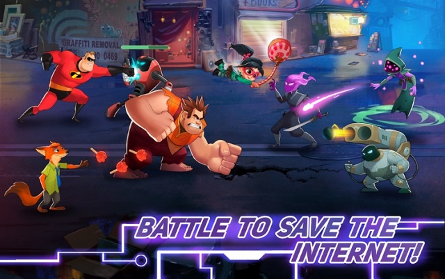 Disney Heroes Battle Mode андроид