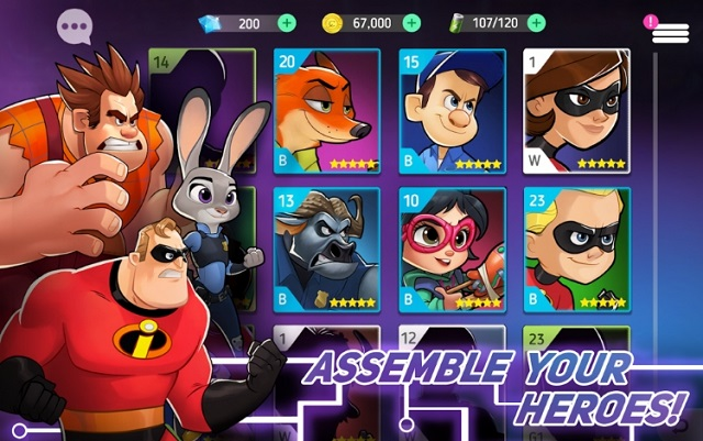 Disney Heroes Battle Mode скачать