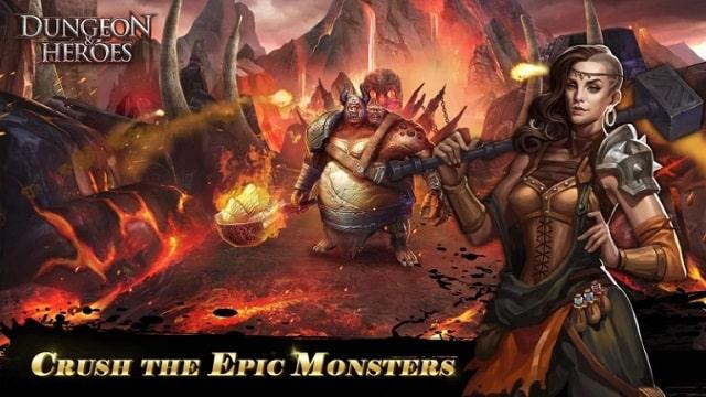 Dungeon & Heroes андроид