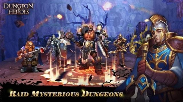 Dungeon & Heroes мод