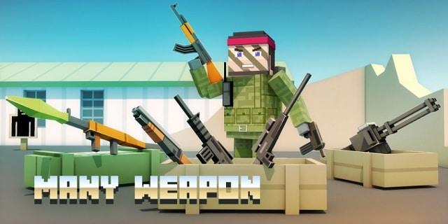 Online Block Wars IO андроид