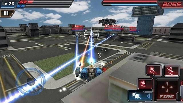 Роботы атакуют 3D андроид