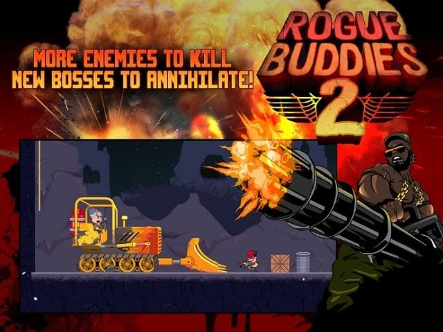Rogue Buddies 2 андроид