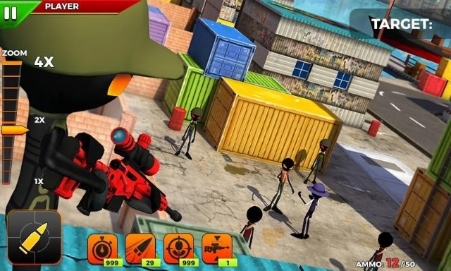 Stickman Battle: Online Shooter 3D андроид