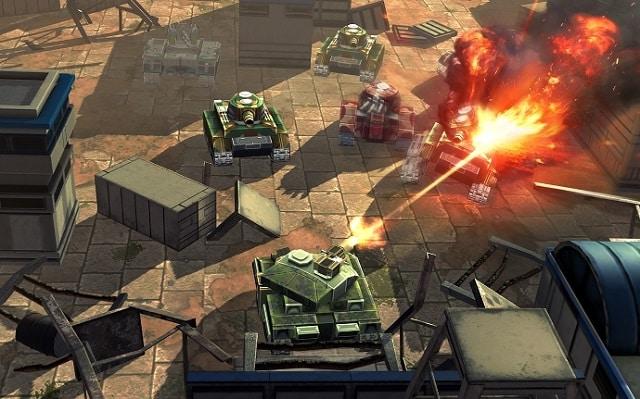 Tank Battle Heroes мод