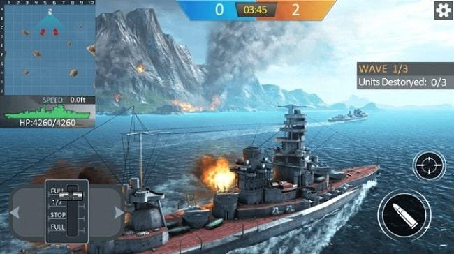 Военный корабль андроид