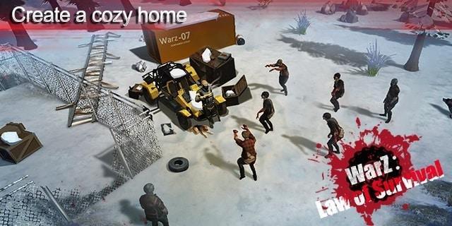 WarZ: Law of Survival правила