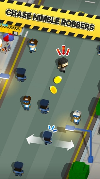Blocky Cops андроид