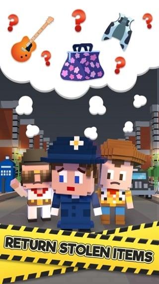 Blocky Cops мод