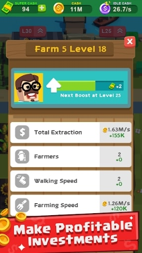 Farm Tycoon: Idle Clicker читы