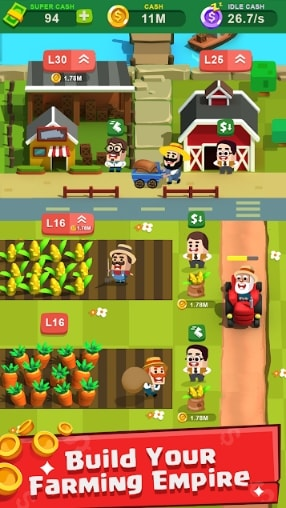 Farm Tycoon: Idle Clicker скачать