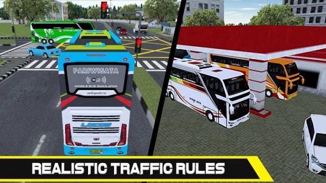 Mobile Bus Simulator андроид