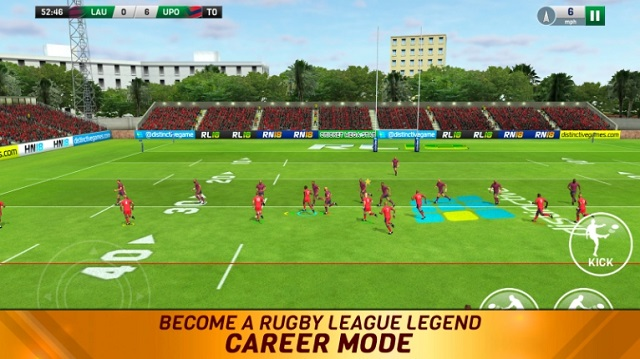 Rugby League 18 мод
