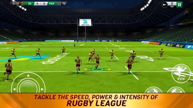 Rugby League 18 скачать