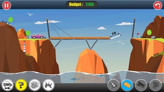 Строитель дорог: постройте мост деньги