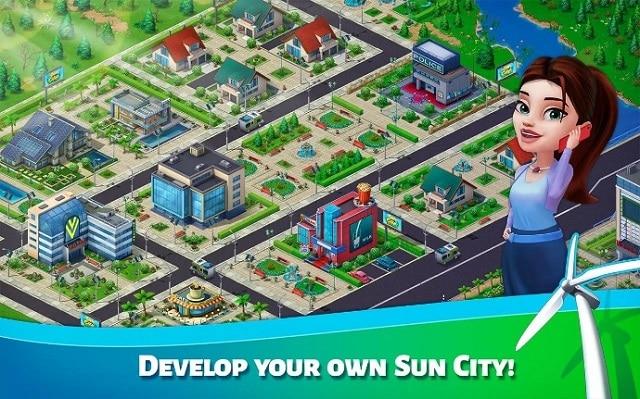 Sun City много денег