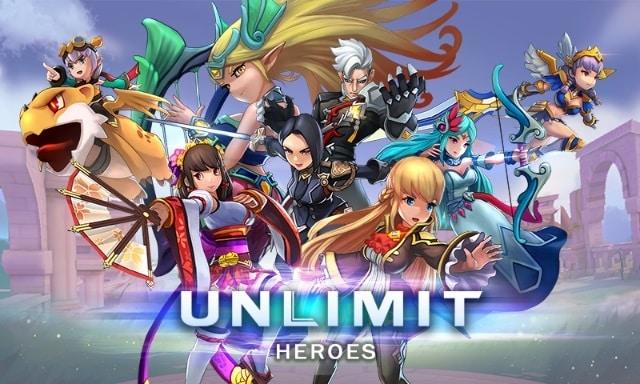 Unlimit Heroes читы