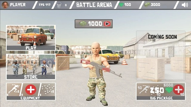 Battle Arena - Online Shooter мод