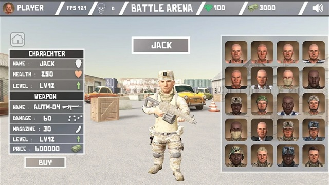 Battle Arena - Online Shooter скачать