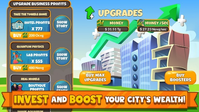 Holyday City Tycoon читы