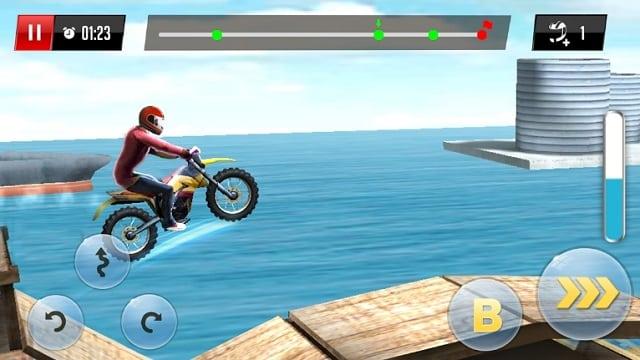 Stunt Motor Racing андроид
