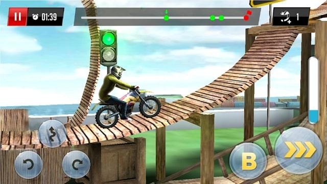 Stunt Motor Racing мод