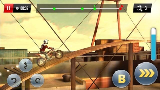 Stunt Motor Racing скачать