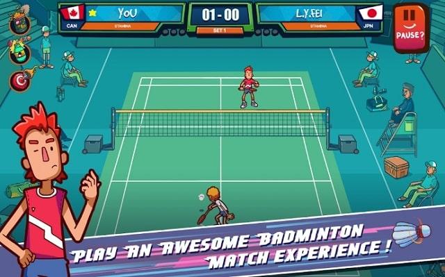 Super Stick Badminton скачать