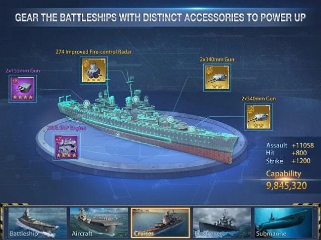 Battleship Empire мод