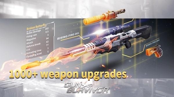 Guns of Survivor читы