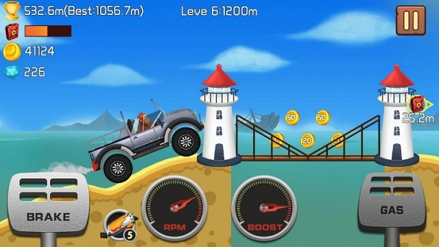 Jungle Hill Racing андроид