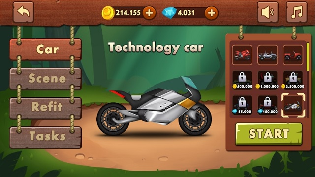 Jungle Hill Racing читы