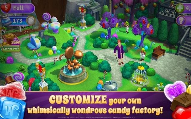 Willy Wonka's Sweet Adventure андроид