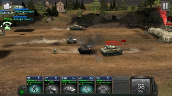 Commander Battle андроид