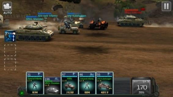 Commander Battle мод