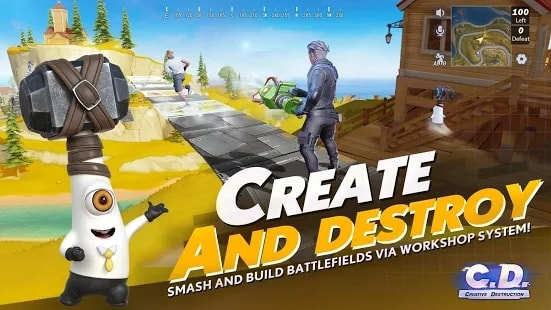 Creative Destruction читы