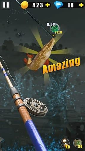 Дикая рыбалка мод