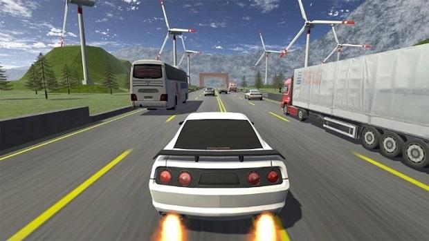 Racing in Car Limits андроид