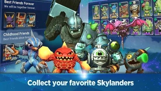Skylanders Ring of Heroes мод
