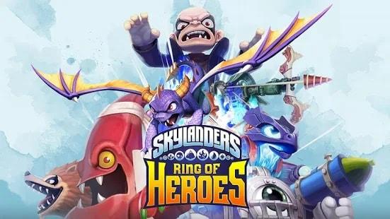 Skylanders Ring of Heroes скачать