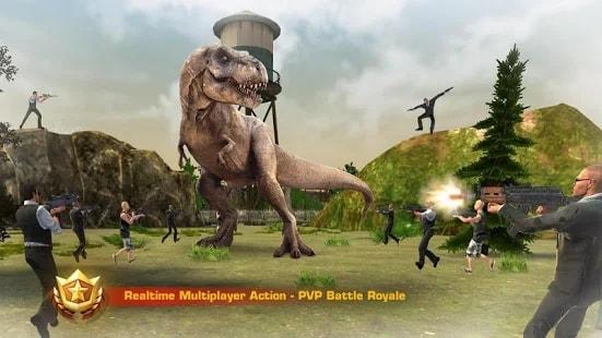 Dinosaur Hunt PvP андроид